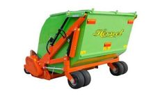 Tierre - Model Hornet - Shredder With Grass Collector