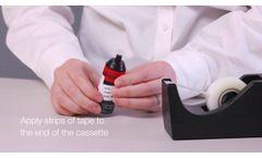 Sampling Carbon Nanotubes or Nanofibers (CNT, CNF) - Video