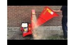 Oxdale Products 13hp Honda Driven Chipper Video