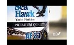 AF33 - Self-Polishing Copolymer Antifouling by Sea Hawk Paints - Video