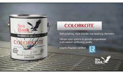 Colorkote - Top Performing Triple-Biocide Antifouling - Video