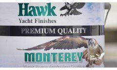 Monterey - Water-Based Antifouling by Sea Hawk Paints - Video