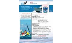 TALON Semi-Hard Hybrid Ablative Antifouling Paint - Technical Data Sheet