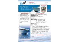 TROPIKOTE Top-of-the-Line Hard Antifouling Paint  - Technical Data Sheet