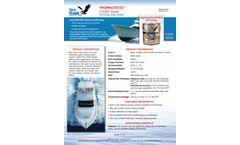 TROPIKOTE EX 2100EX Series Multi-Season Hard Modified Epoxy Antifouling Paint - Technical Data Sheet