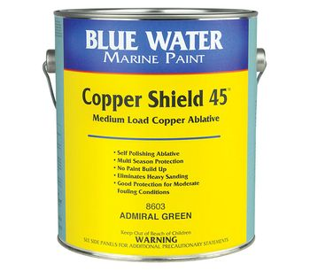 Copper Shield - Model 45 - Antifouling Protection Paint Against Barnacles, Algae and Hydroids