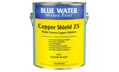 Copper Shield - Model 25 - Antifouling Paint Protection Against Barnacles, Algae and Hydroids