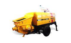 Sany - Model HBT5008C-5S - Diesel Trailer Pump