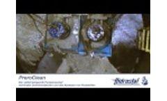 Hidrostal PreroClean Self Cleaning Sump Video