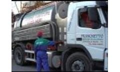 Combined Sewer Cleaner on 2-Axles Truck Volvo Video