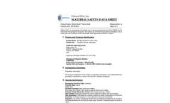 Water Works - Storm Ultra - Mild Alkaline Spray Wash Solution - MSDS