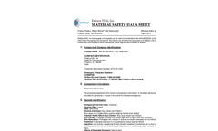 Water Works - 121 Kleen Room - Surfactant Based Cleaner/Degreaser - MSDS