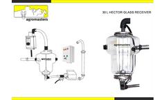 Hector - Model 30 Litre - Glass Milk Receiver  Brochure