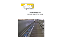 Agromasters - Parallel Milking Parlour - Brochure