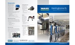 Waikato - Model EL - Herringbone Milking Machines Brochure