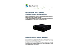 Bandweaver - Model DAS - Horizon Distributed Acoustic Sensor Brochure