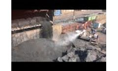 Dust Control Cannon V7 in Russian Steel Plant, by EmiControls - Video