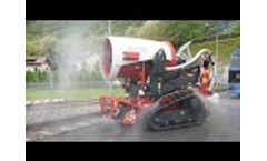 Self-Protection Function for Firefighting Robot - Video