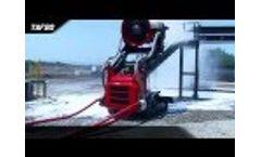 Firefighting Robot TAF vs Poolfire, EmiControls and Magirus - Video