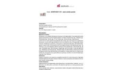 Agentadox - Model 10/5 - Water Soluble Powder Brochure