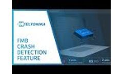 Teltonika FMB Crash Detection Feature Video