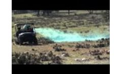 Electrostatic Ground Sprayer: 4010-DF in cactus application Video