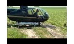Spectrum Sprayers Electrostatic Aerial System: Helicopter Mounted Sprayer Video
