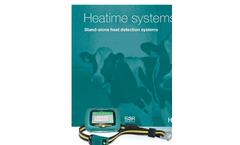 Model SCR Heatime H - Stand-Alone Cow Heat Detection System Brochure