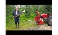 BX42 Wood Shredder Video