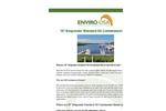 Enviro-USA - Model 19 Inch - Marina & Port Standard Oil Containment Boom Datasheet