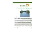 Enviro-USA - Model 10 Inch - Calm Water & River Fast Deployment Oil Containment Boom Datasheet