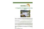 Enviro-USA - Model 12 Inch - Rough River Fast Deployment Oil Containment Boom Datasheet