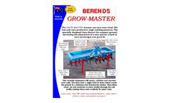 Grow-Master - Aerator - Datasheet