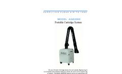 Model AQE2000 - Portable Cartridge System - Datasheet