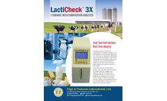 LactiCheck - Model LC-3X - Milk Analyzer Brochure