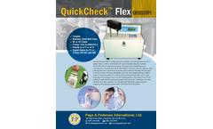 QuickCheck - Model Flex - Cryoscope Analyzer Brochure