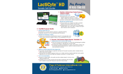 LactiCyte - Model HD - Somatic Cell Counters Brochure