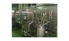 Model 500 - 12000 Liters - Milk Pasteurizer