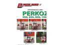 Perkoz - Model 400, 600, 800 and 1000 - Field Sprayers Brochure