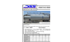 Model 1400c.f. - Portable - Positive Feed Silo Brochure