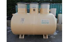 Synergy - Model 12,000 Litre - Biological Aerated Septic Tank