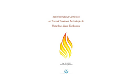 International Conference on Thermal Treatment Technologies and Hazardous Waste Combustors - Exhibitor Prospectus