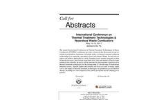 International Conference on Thermal Treatment Technologies and Hazardous Waste Combustors - Call for Abstracts