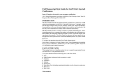 International Conference on Thermal Treatment Technologies and Hazardous Waste Combustors - Full Manuscript Style