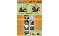 Model CSP - Trailed Sprayer Brochure
