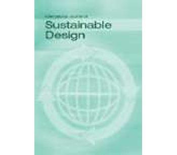 International Journal of Sustainable Design (IJSDes)