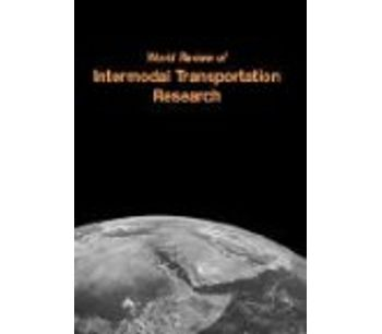 World Review of Intermodal Transportation Research (WRITR)