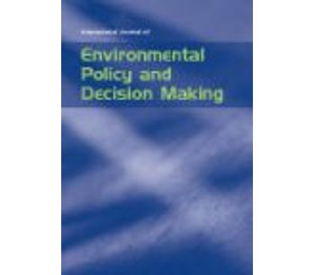 International Journal of Environmental Policy and Decision Making (IJEPDM)