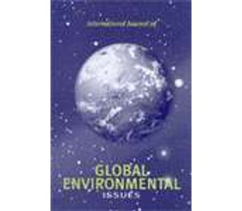 International Journal of Global Environmental Issues (IJGEnvl)