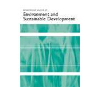 International Journal of Environment and Sustainable Development (IJESD)